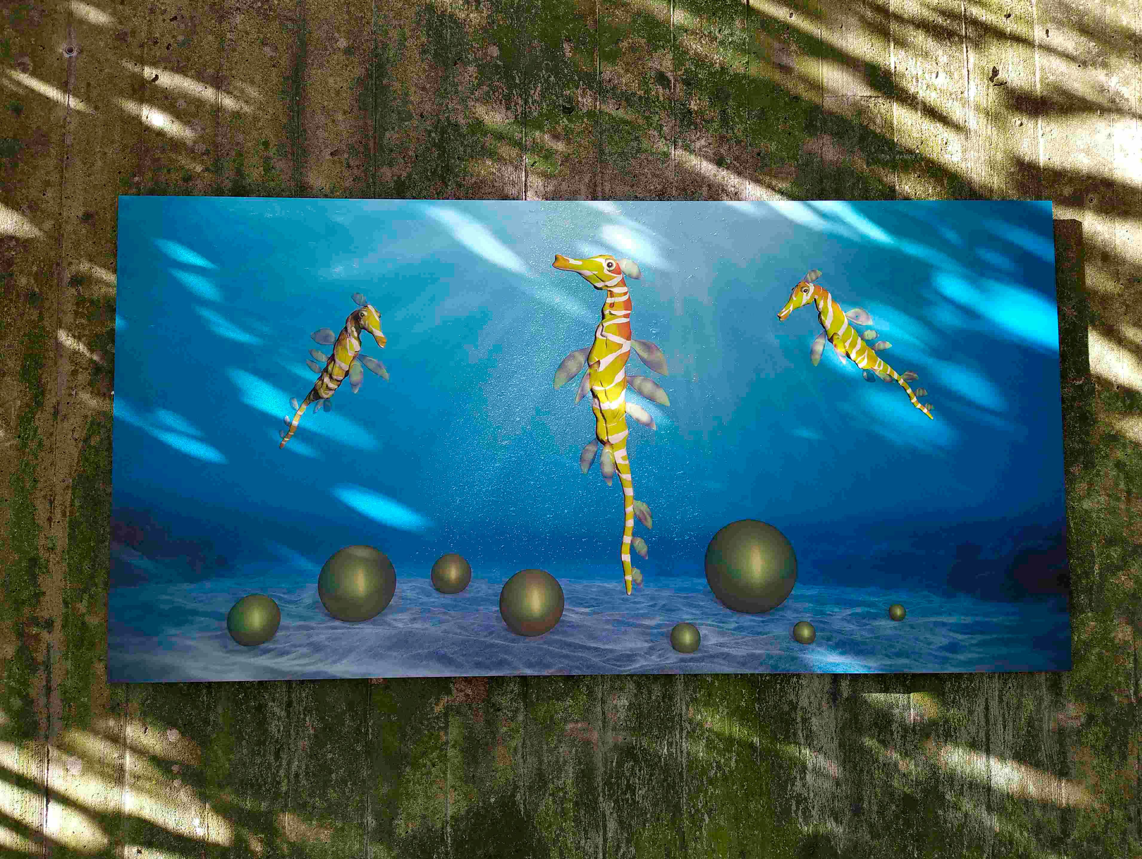 Seadragons Treasure Wandarbeit