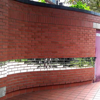reflecting bricks