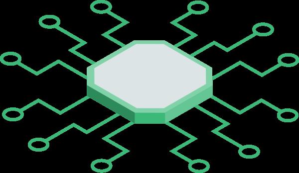 Chip displaying intelligence
