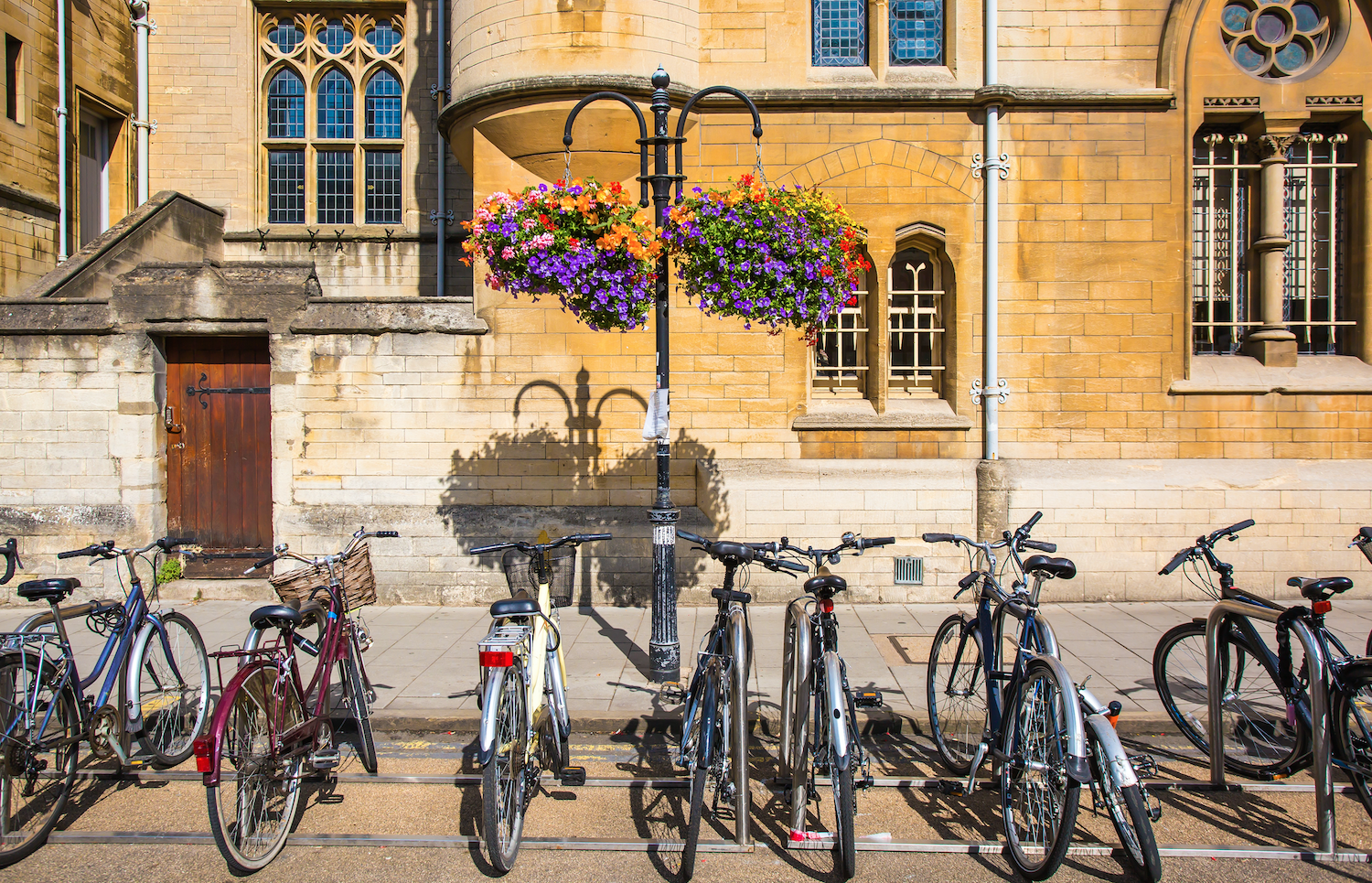 Broad St. in Oxford, England. The home of OXMT and IronMan.