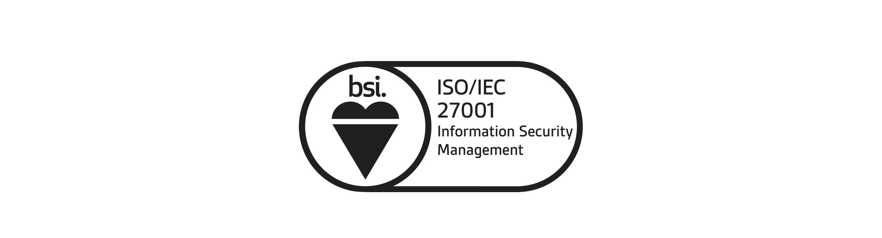 OXMT ia ISO 27001 certified.