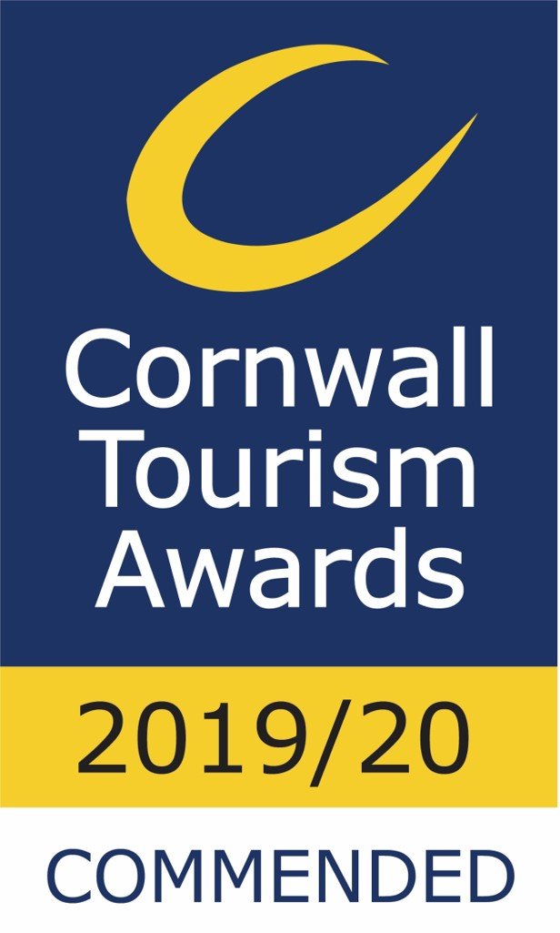 Gwelmor - Cornwall Tourism Awards - Commended 2019/20