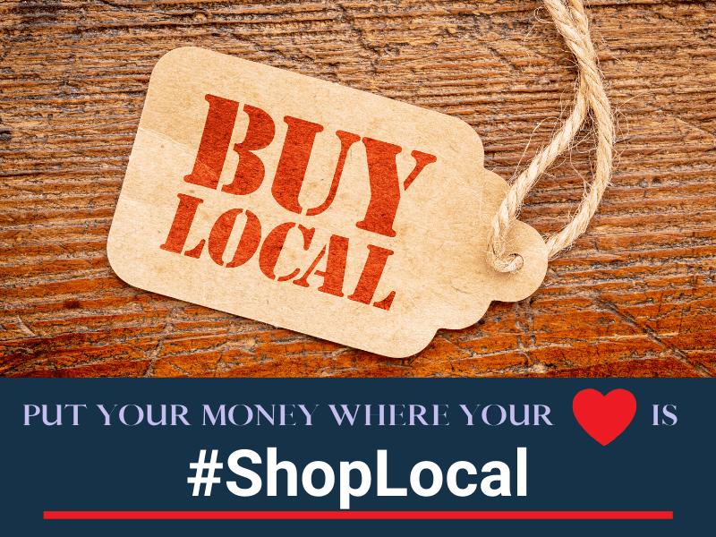 Shop Local graphic.
