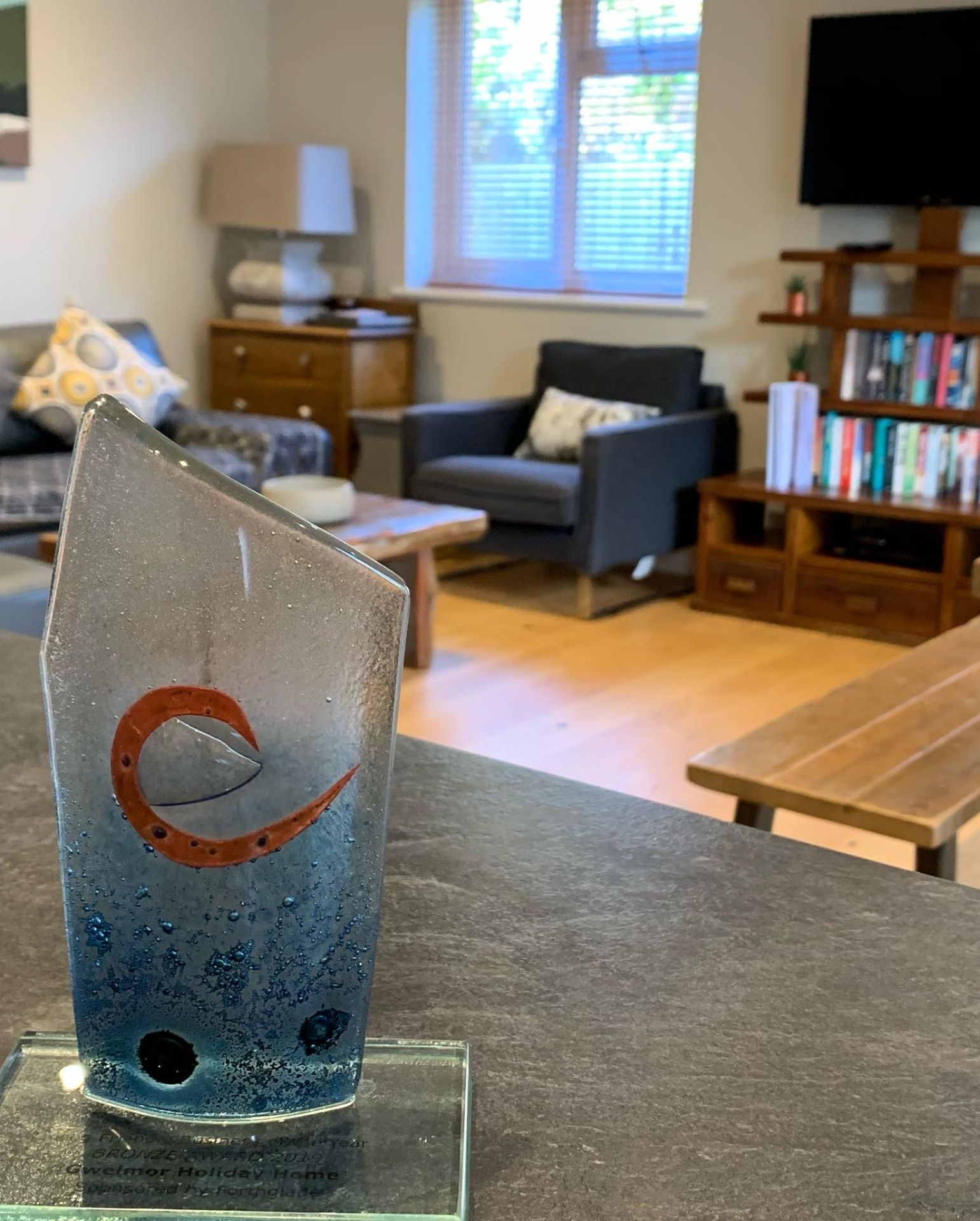 Gwelmor in Widemouth Bay won Bronze for dog friendly business in the 2019/20 Cornwall Tourism Awards