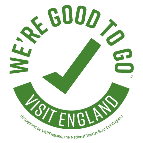 Gwelmor holiday home has achieved Visit England 'We're Good To Go' status