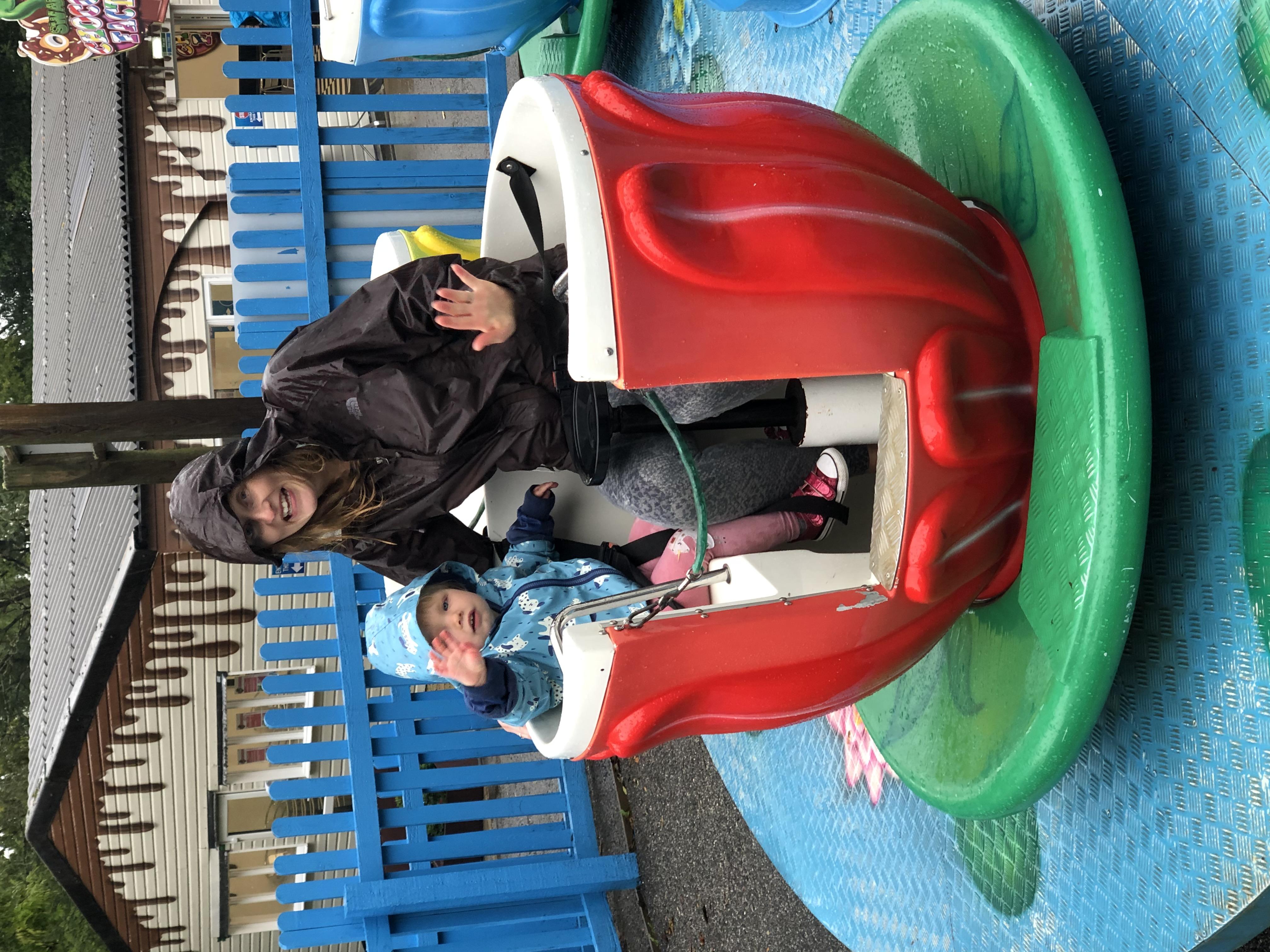 Outdoor attractions at Camel Creek Adventure Park in Wadebridge Cornwall