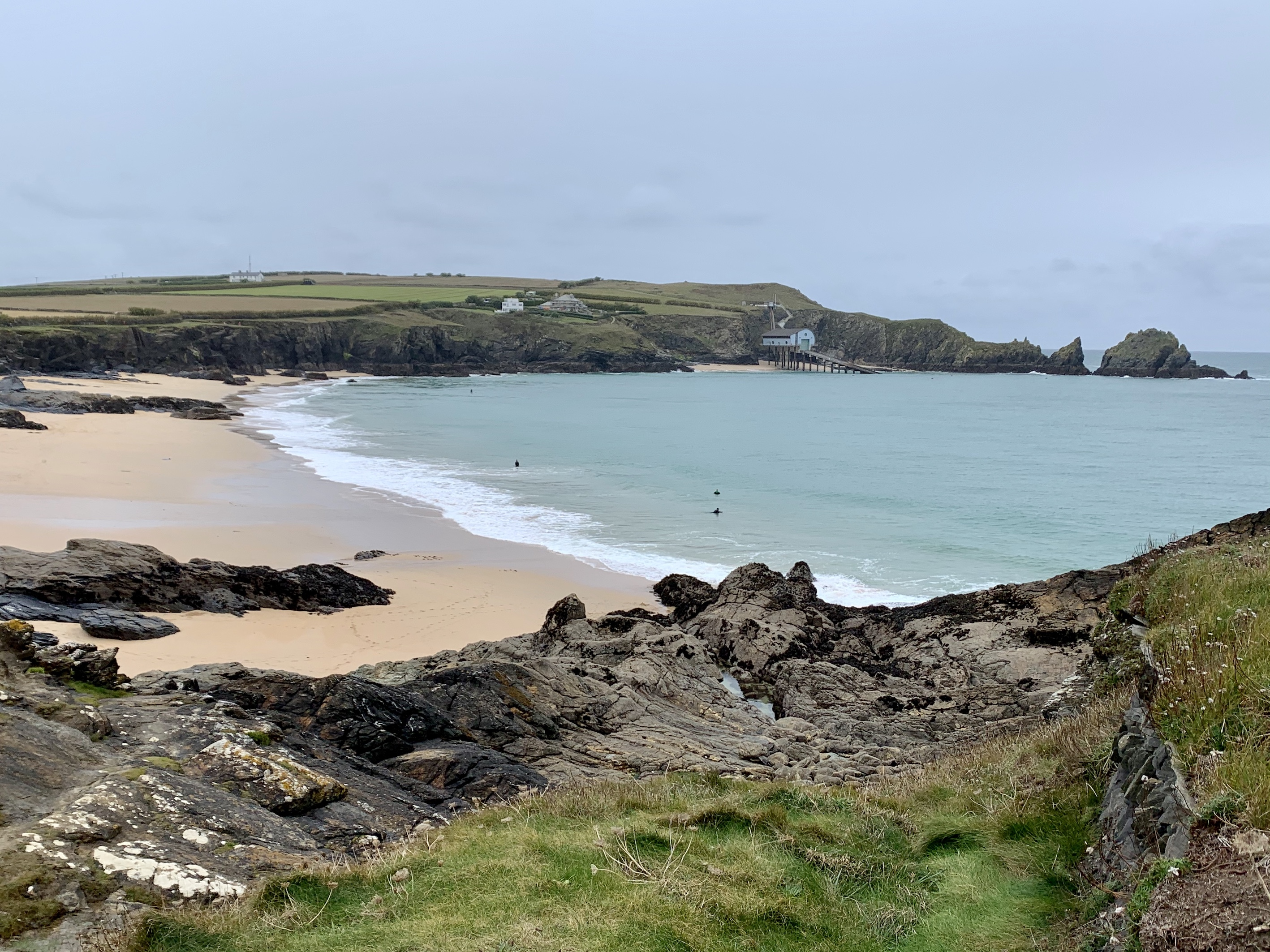 Walking the South West Coast Path from Padstow to Porthcothan