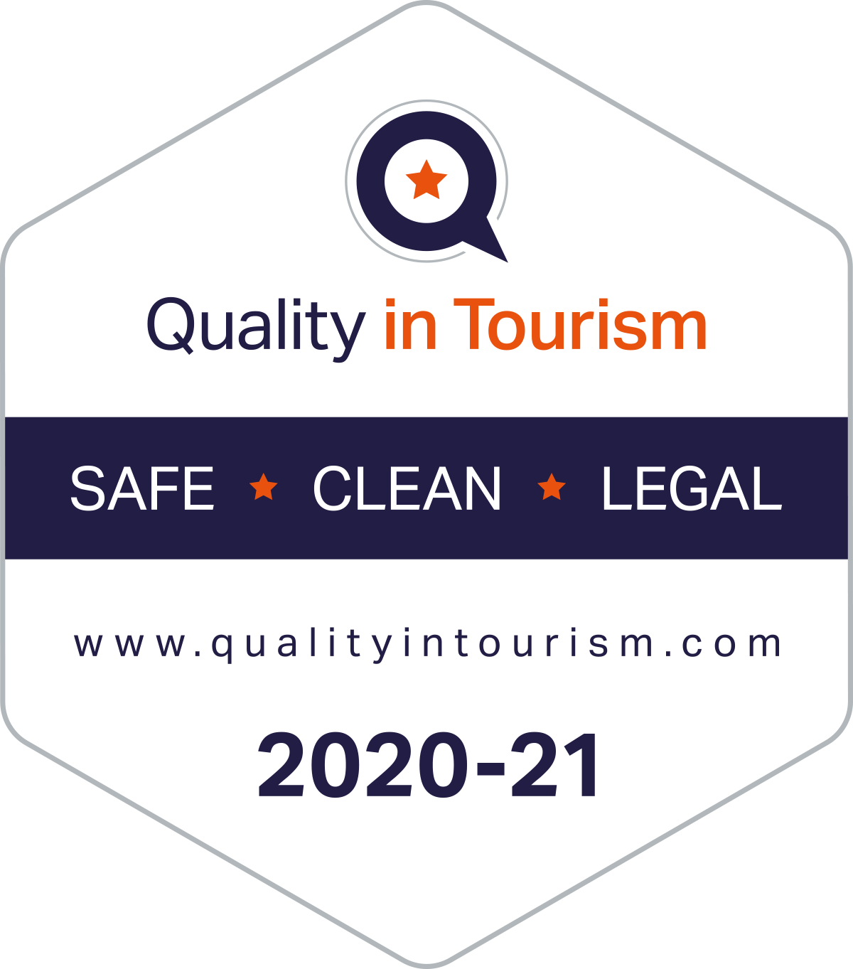 Gwelmor in north Cornwall achieves Quality in Tourism 'Safe, Clean and Legal' accreditation
