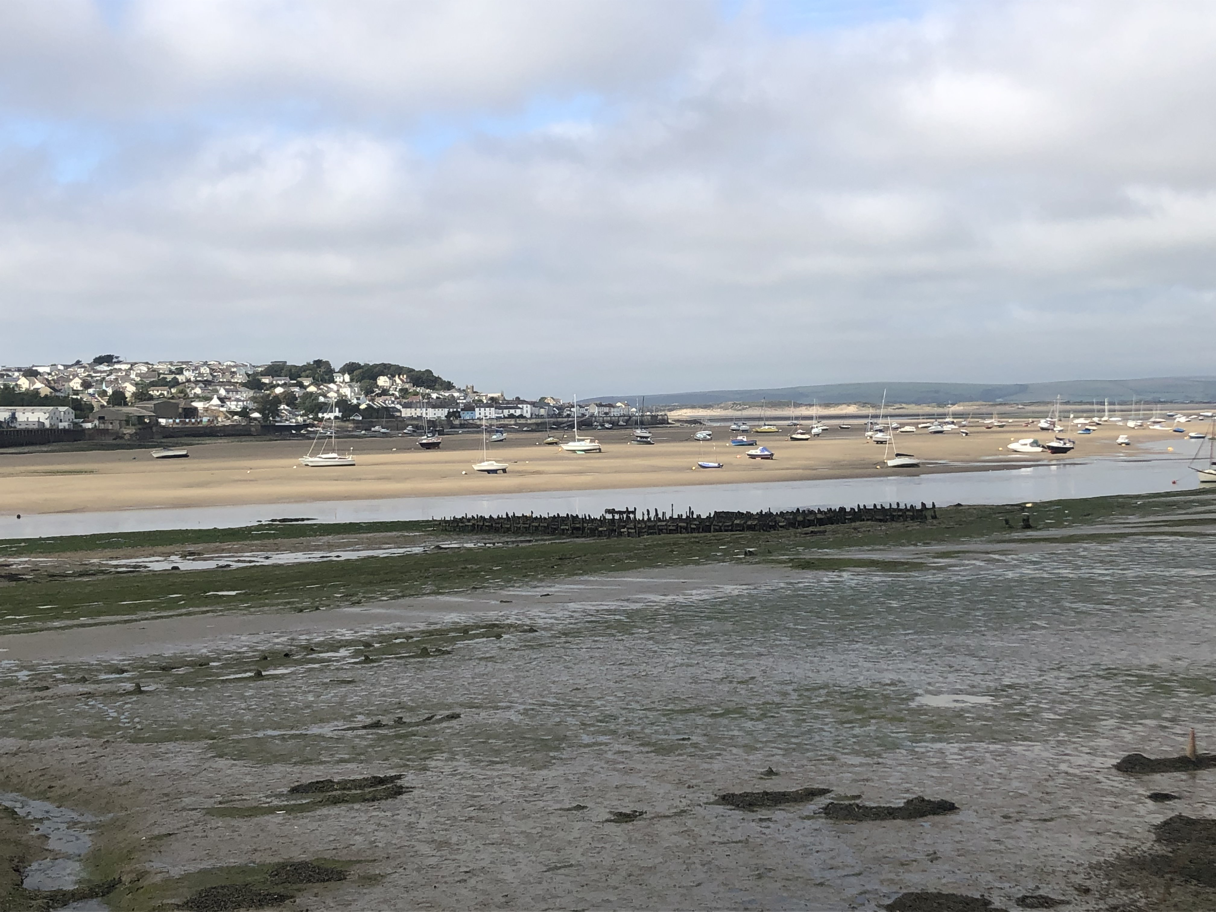 The view across the River Taw to Appledore whilst walking the South West Coast Path from Barnstaple to Appledore