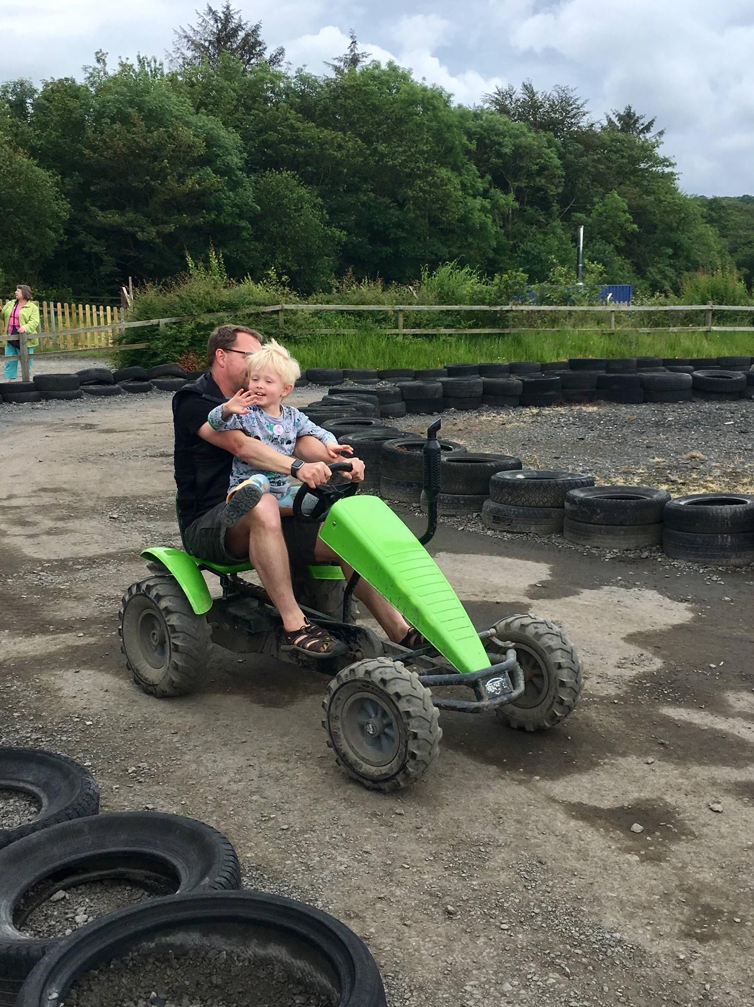 Fun times at The Big Sheep in Cornwall