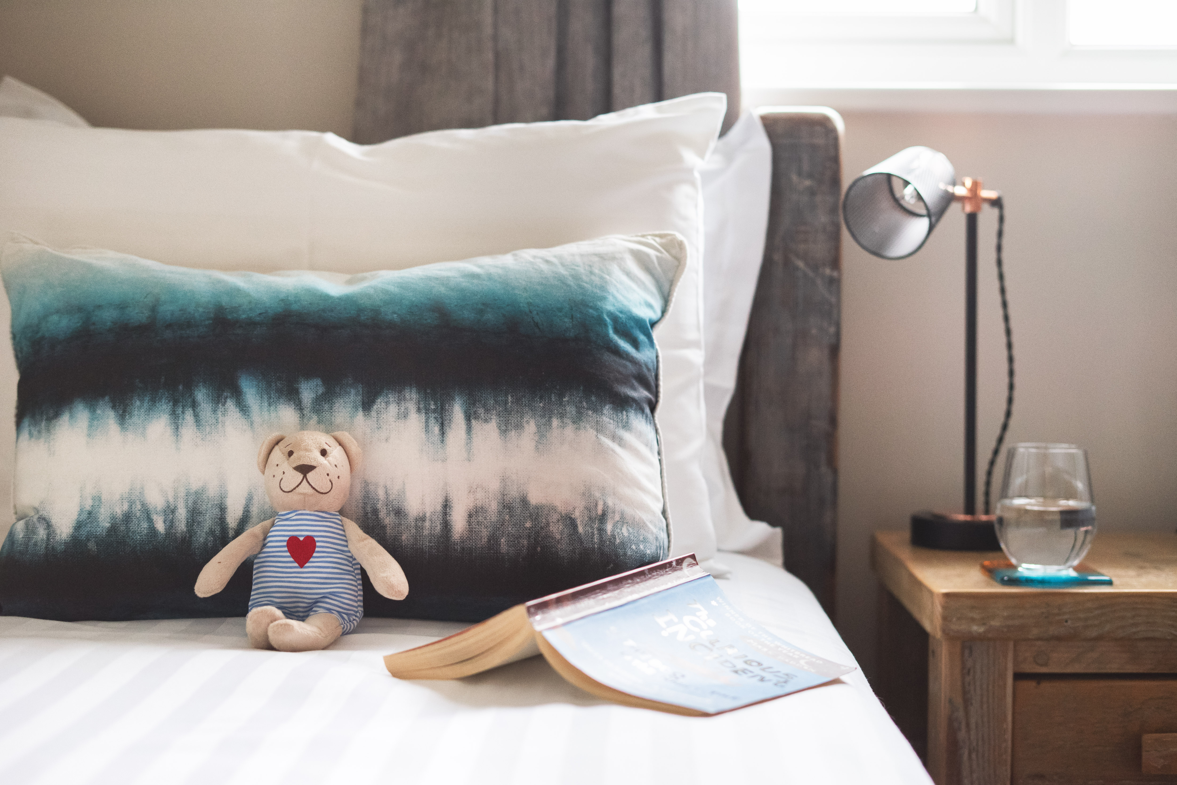 A welcome gift is left for each child guest at Gwelmor holiday home in north Cornwall