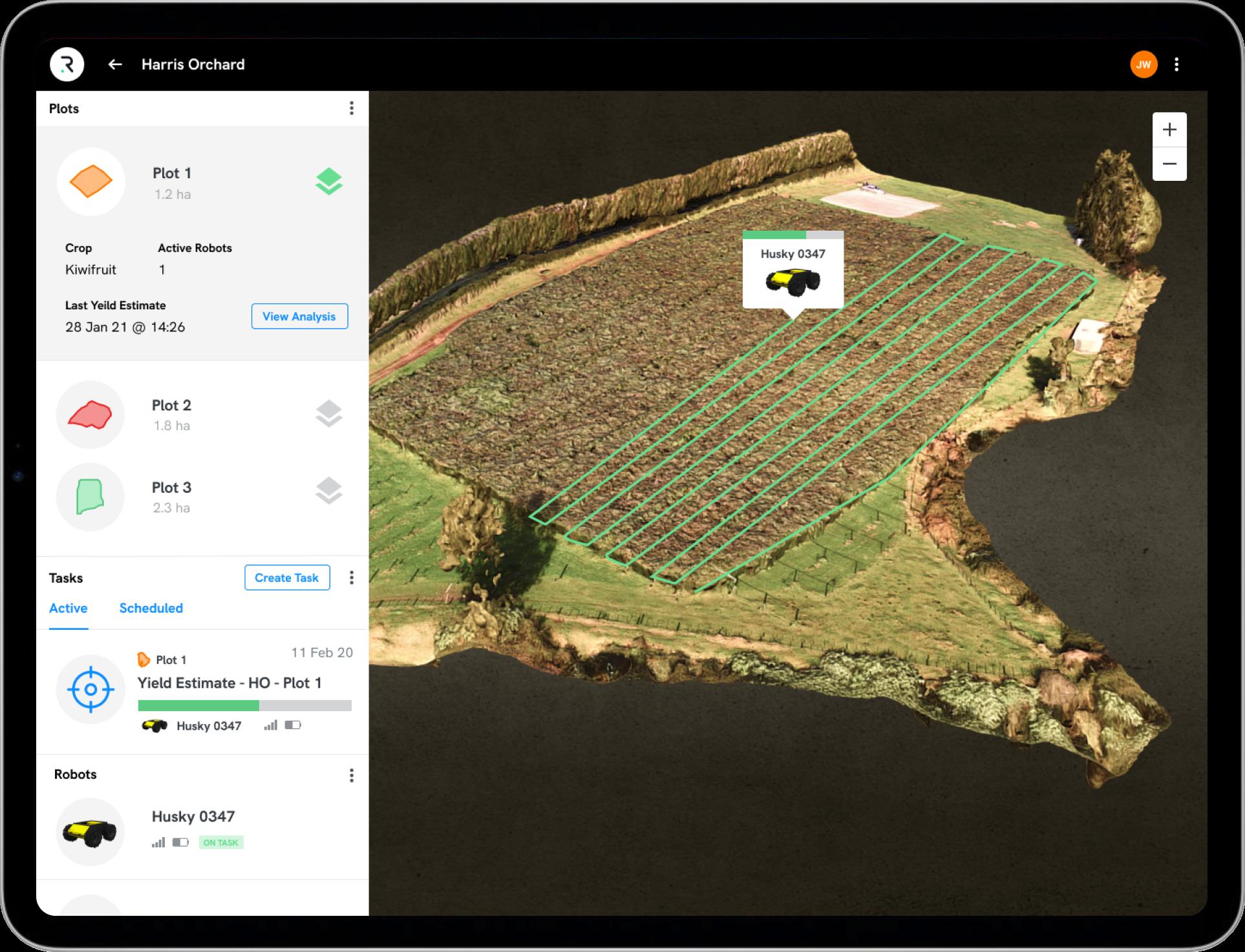 Robotic Farming Platform