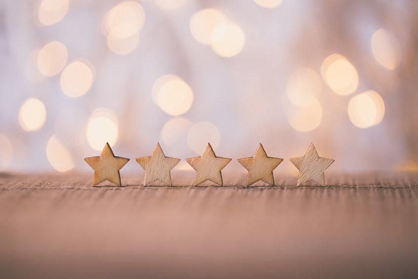 5 star reviews and testimonials