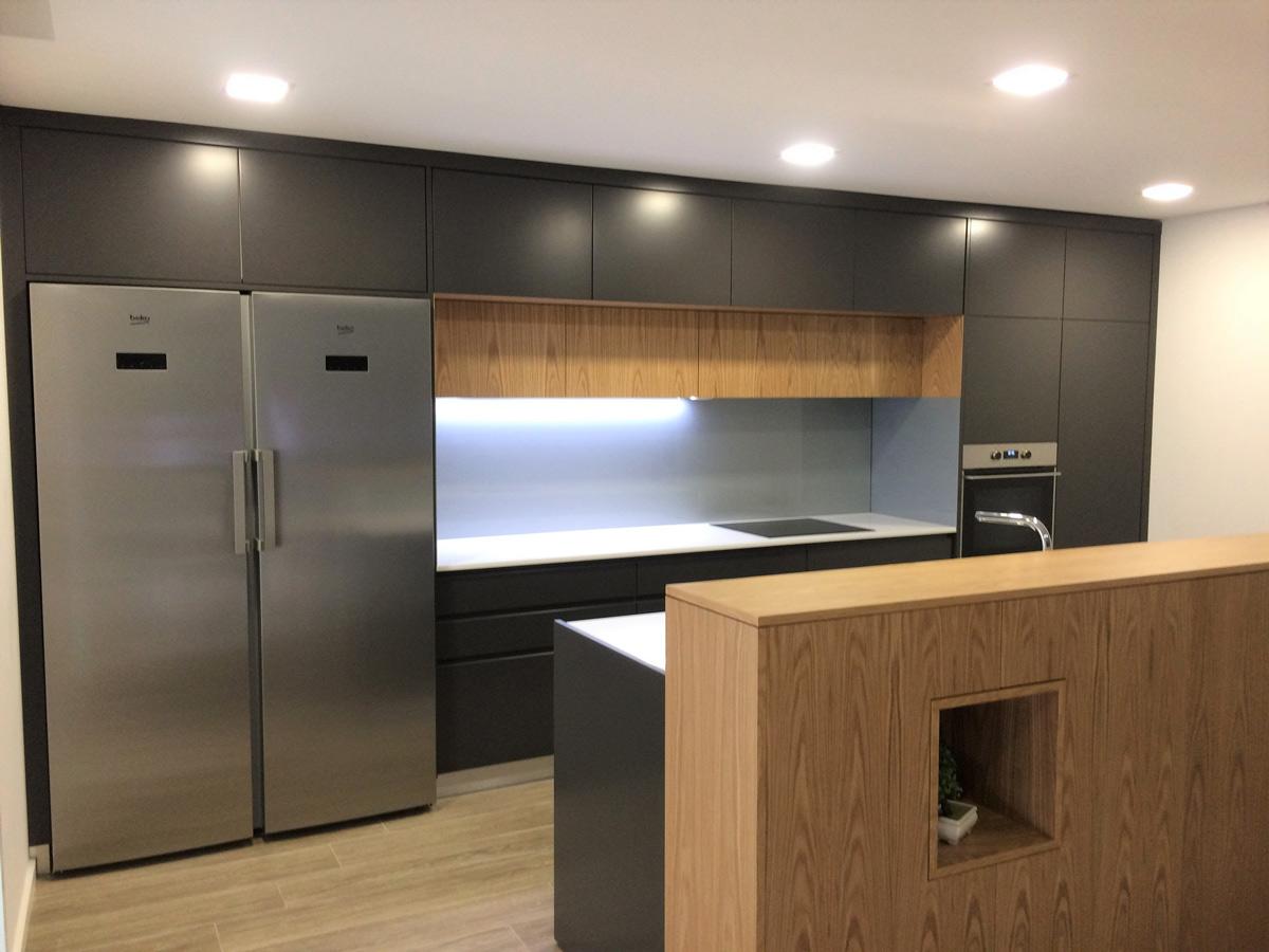 cozinha por medida madeira
