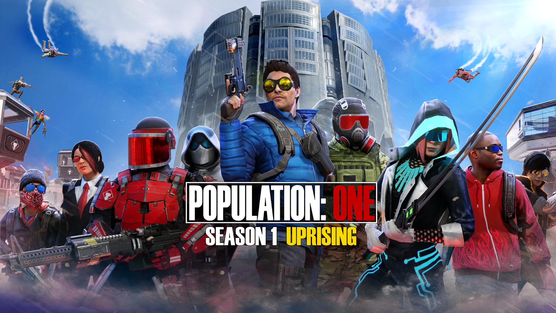 BigBox VR's Season One: Uprising Brings Tons of New Content and Social Features to Population: One