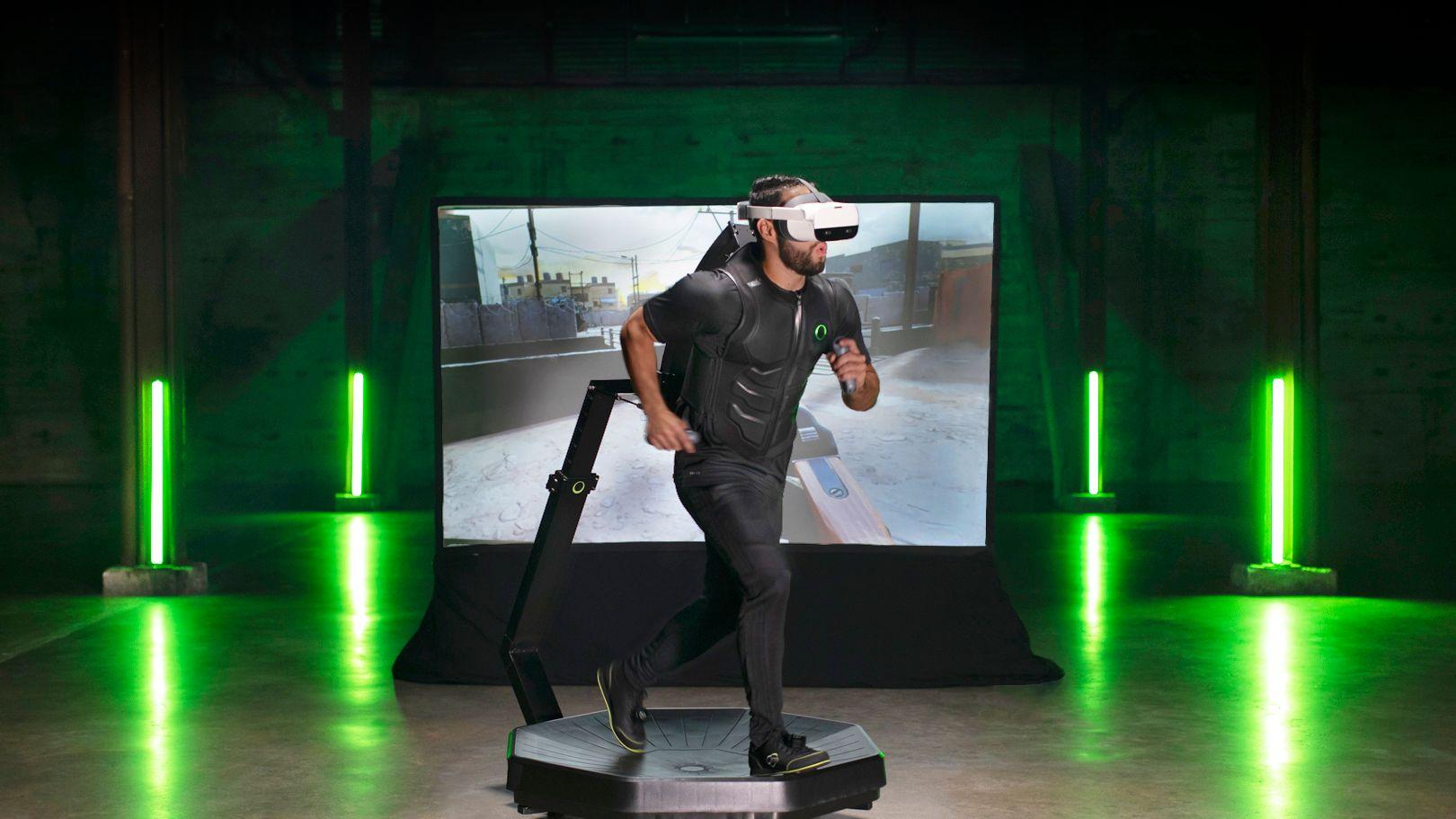 """Omni One"" Virtual Reality Treadmill Continues to Attract Investors"