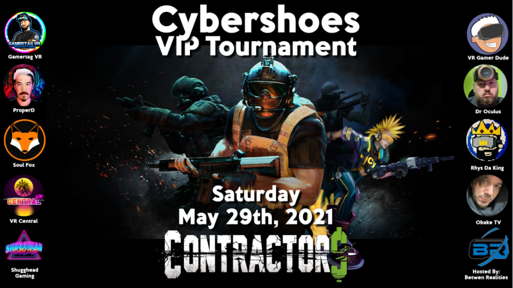 Cybershoes for Quest Now Available on Amazon, VIP Tournament This Weekend