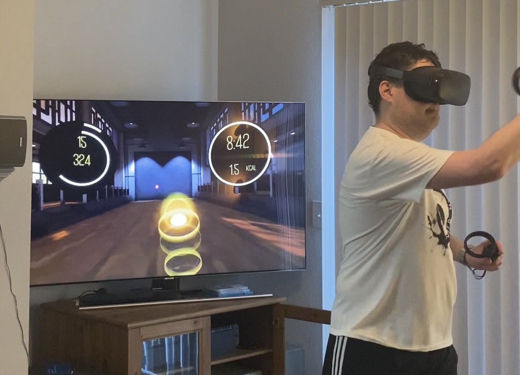 Michael Wells:  A Fantastical Journey To Improved Wellness through VR Gaming