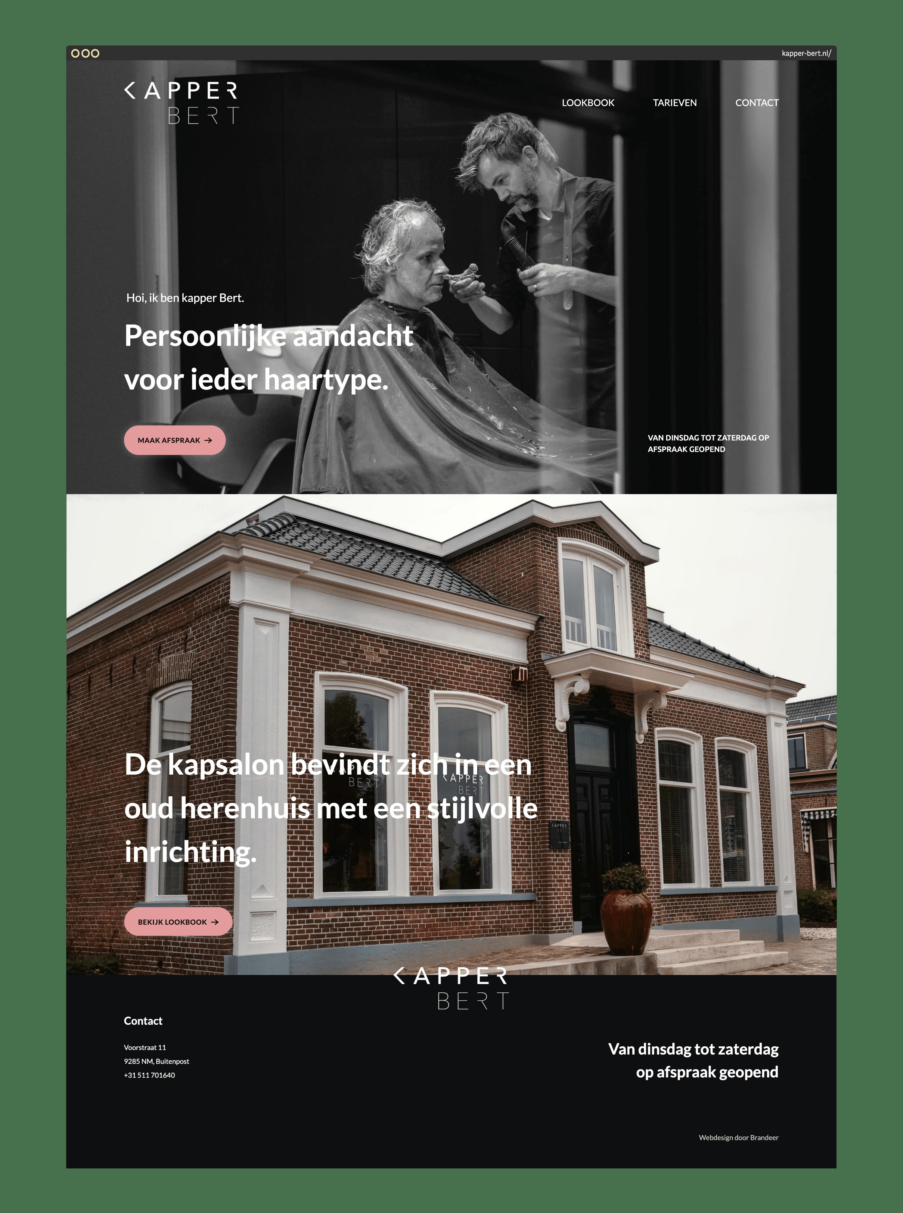 kapper-bert-homepage