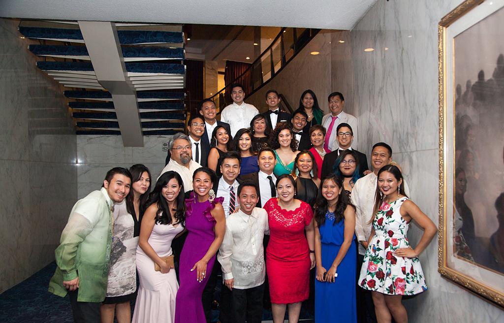Filipino-American leaders in the AAPI community attend APAICS Gala.