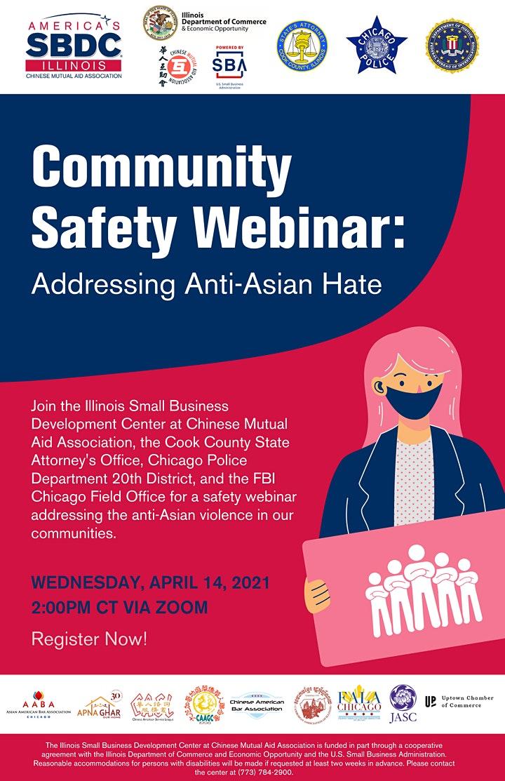 Community Safety Webinar image