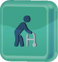 ícone representativo de idosos