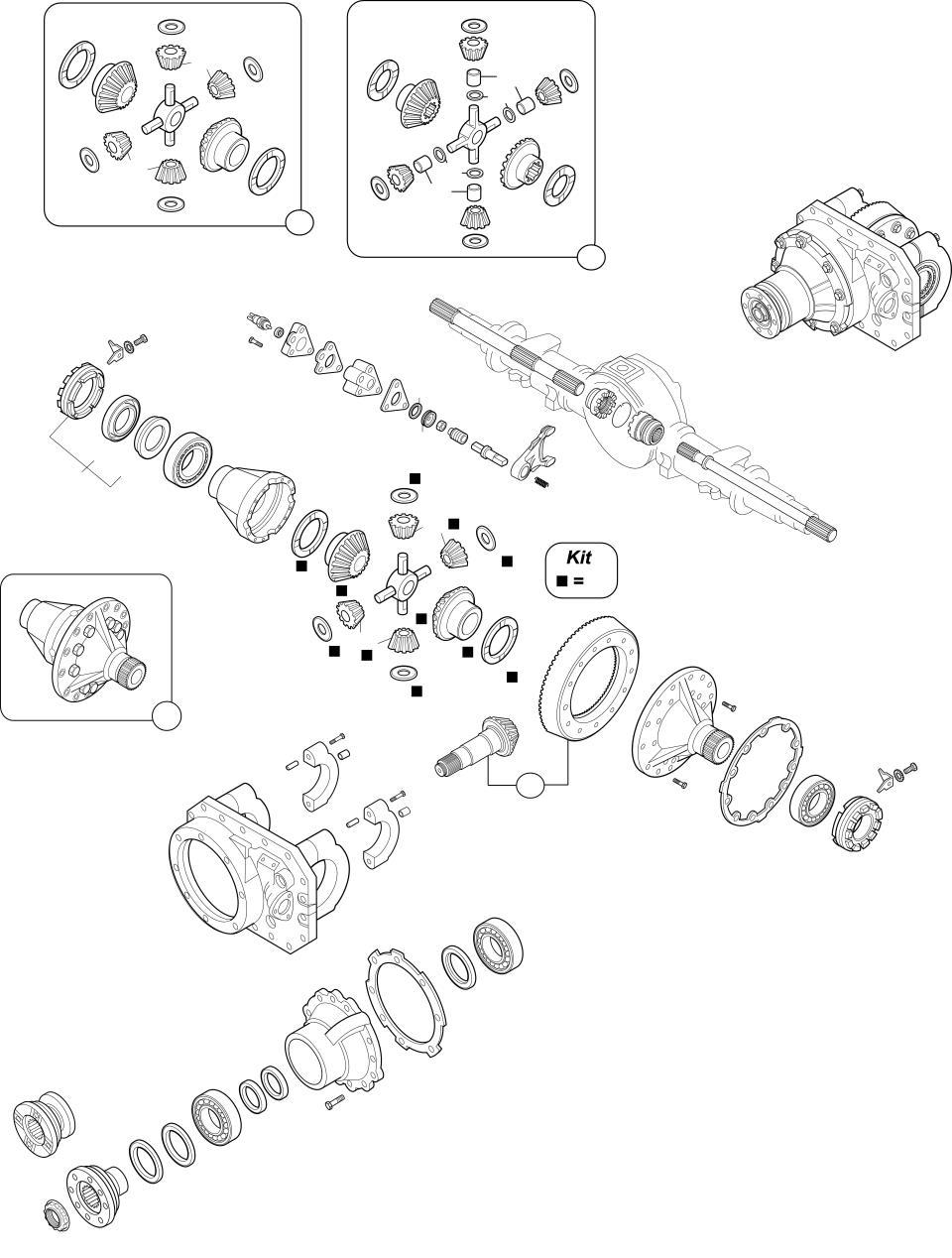 H7-1080 - H7-1380 - H9-1180 (Μικρό Διαφορικό ΕΥΡΩΠΑ 11αρι)