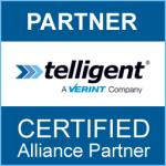Telligent Verint Community Certified Alliance Partner Badge