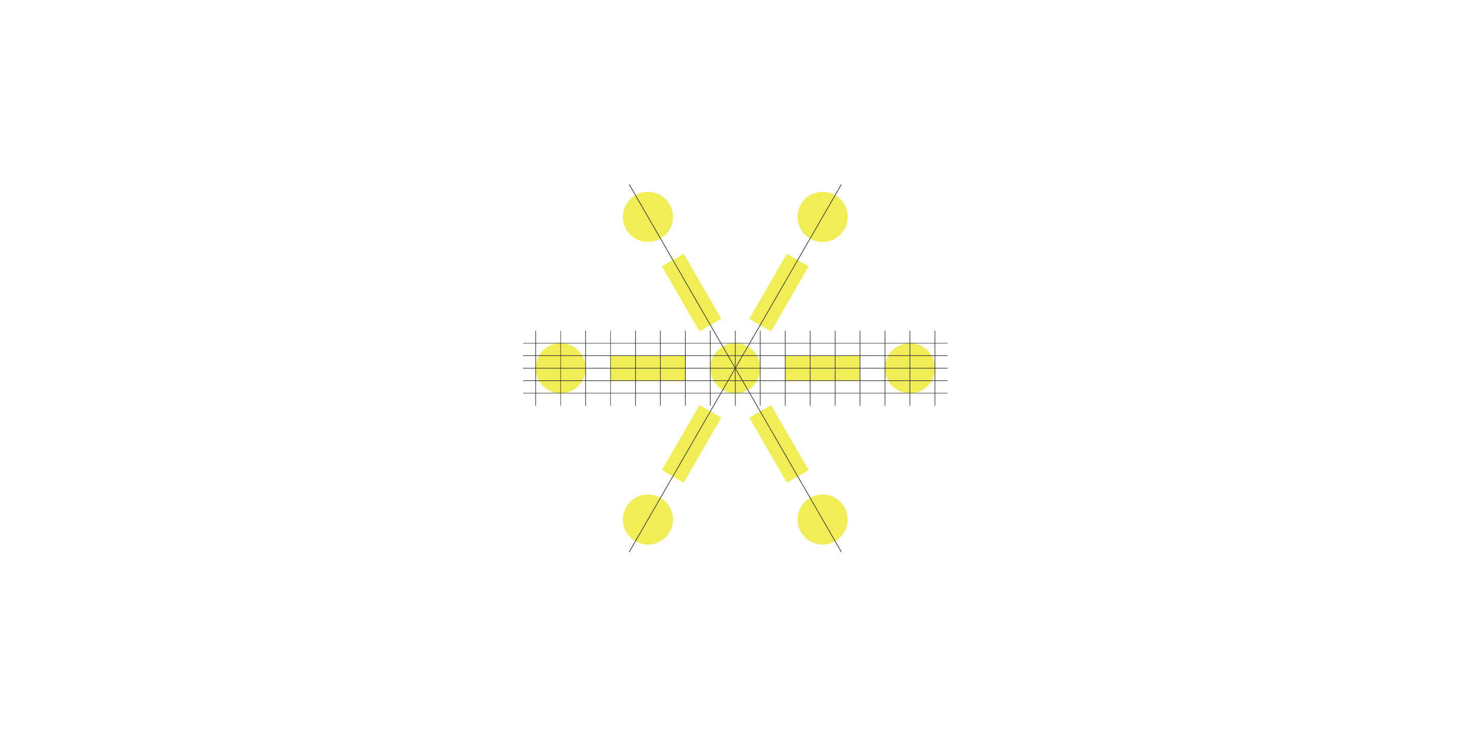 Six Connections symbol geometry