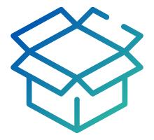 Folding Box Icon