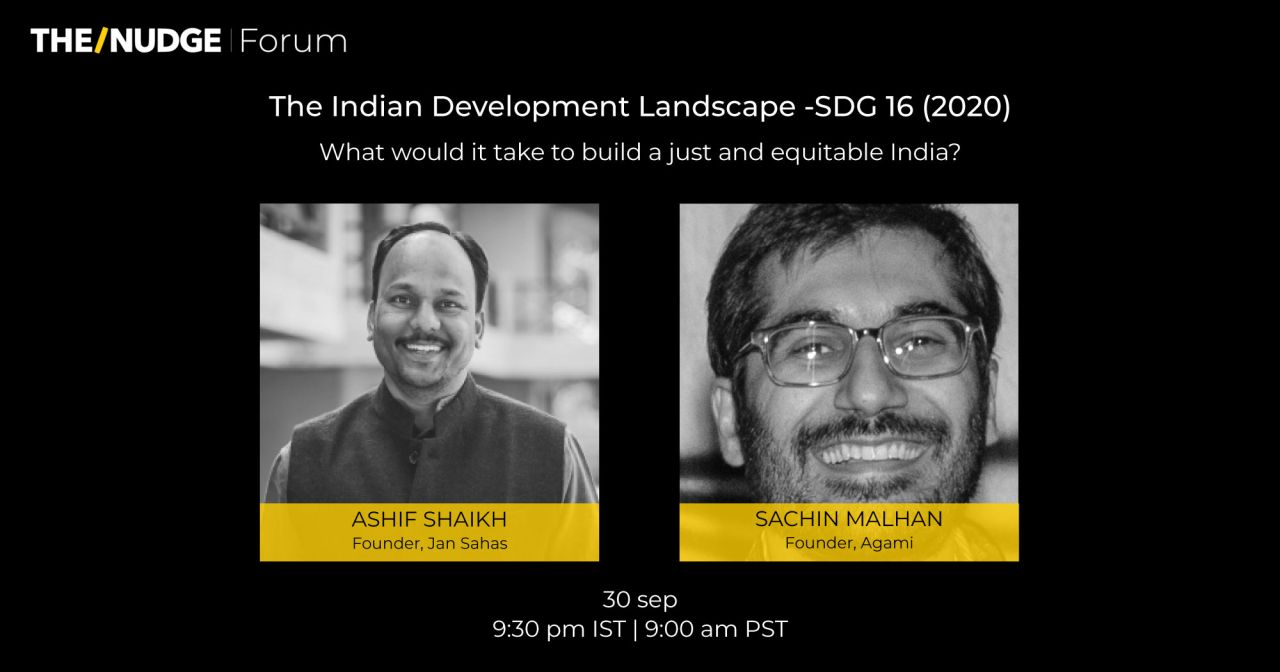 Indian Development Landscape SDG 16 (2020)