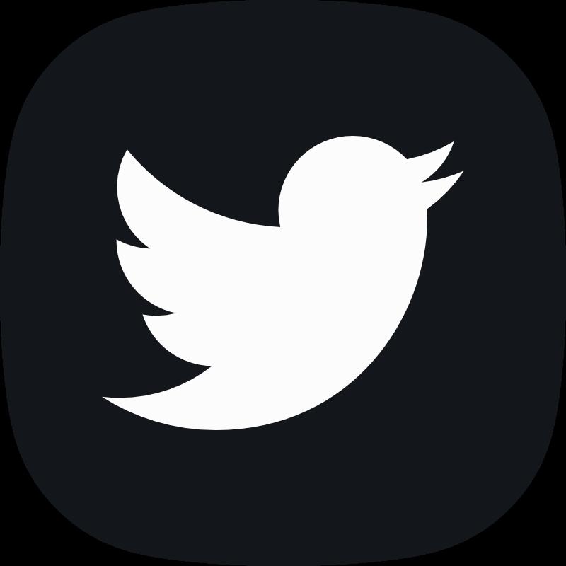 Twitter logo social