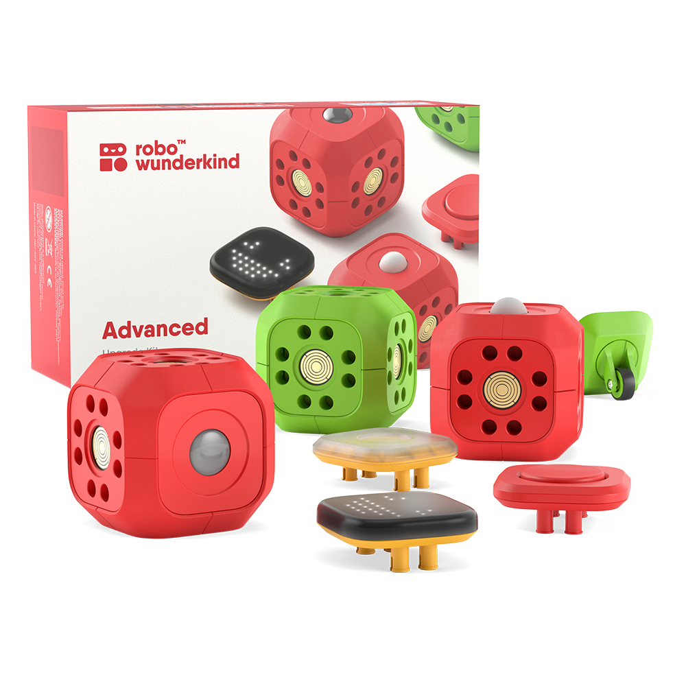Robo Wunderkind Advanced Kit: Robotics For Kids
