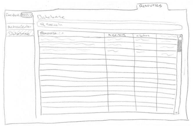 database sketch