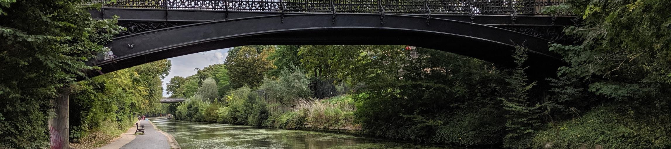 bridge over regents canal