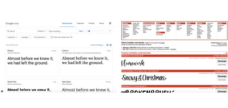 tipografía dafont google fonts cómo crear una marca cómo hacer una marca paso a paso