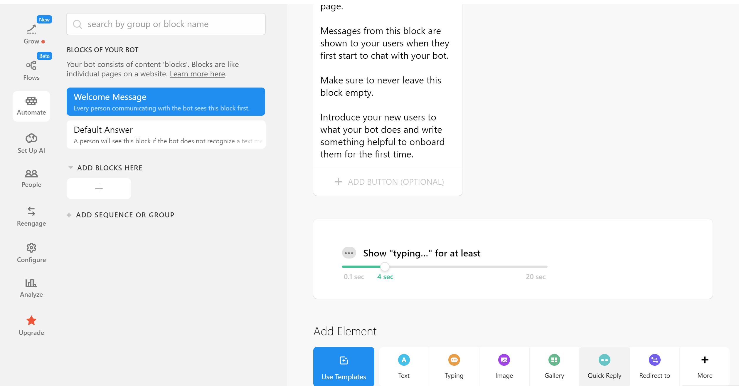 chatfuel efecto typing como crear un chatbot desde cero como crear un chatbot