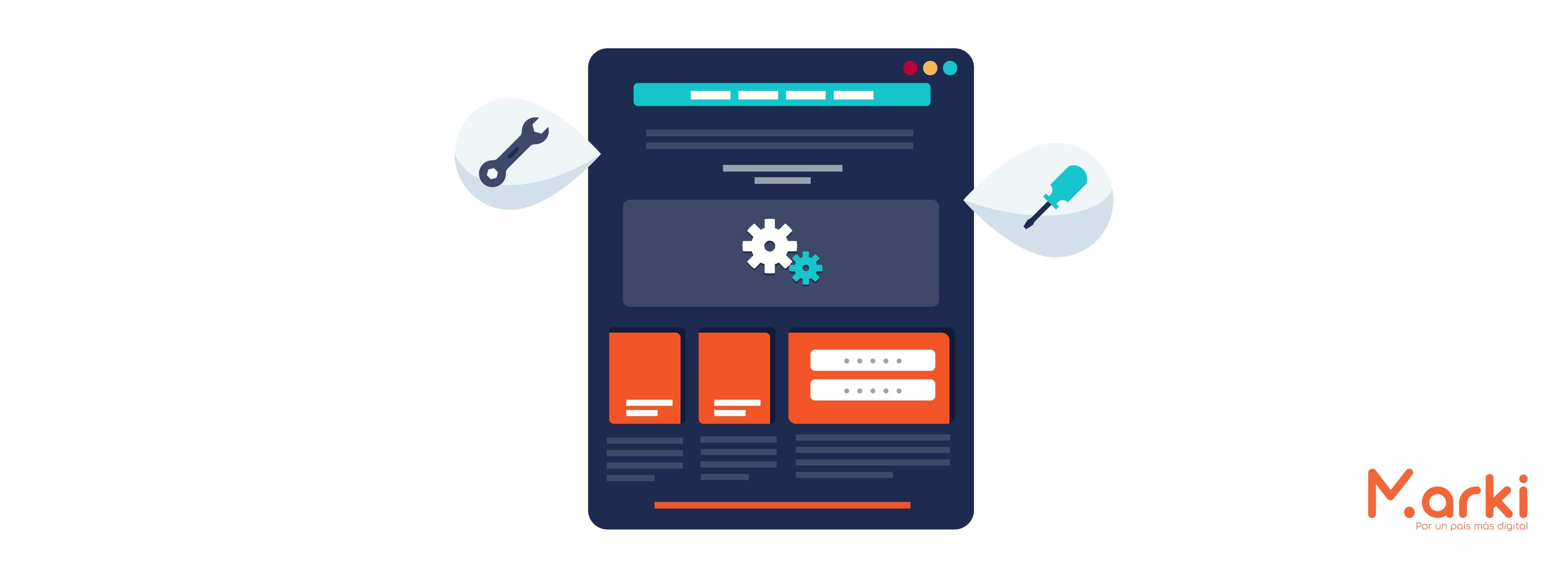 landing page design marki que es una landing page y para que sirve landing page para que sirve diferencias entre landing page y sitio web que es una landing page diseño de marki