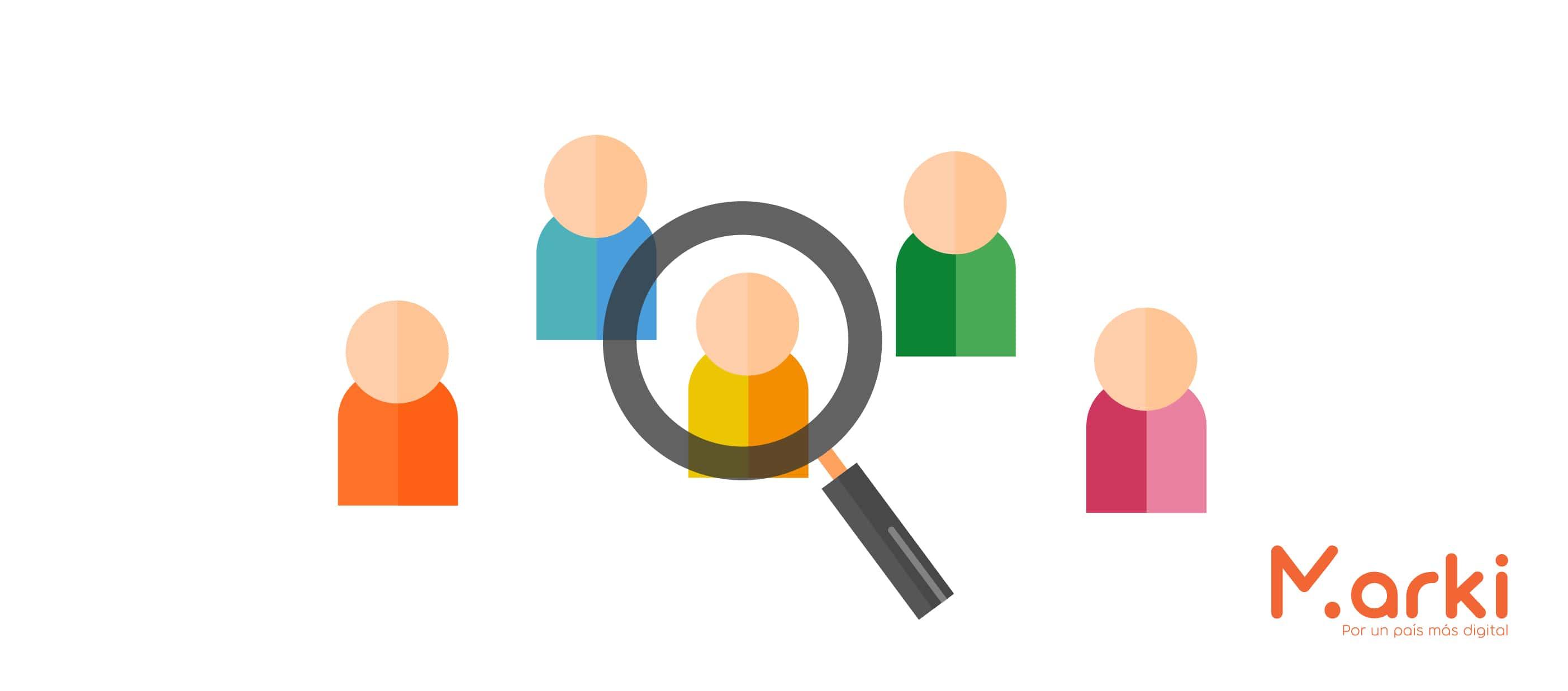 segmentar público objetivo como hacer email marketing gratis campañas de mailing diseño marki voluntariado marki