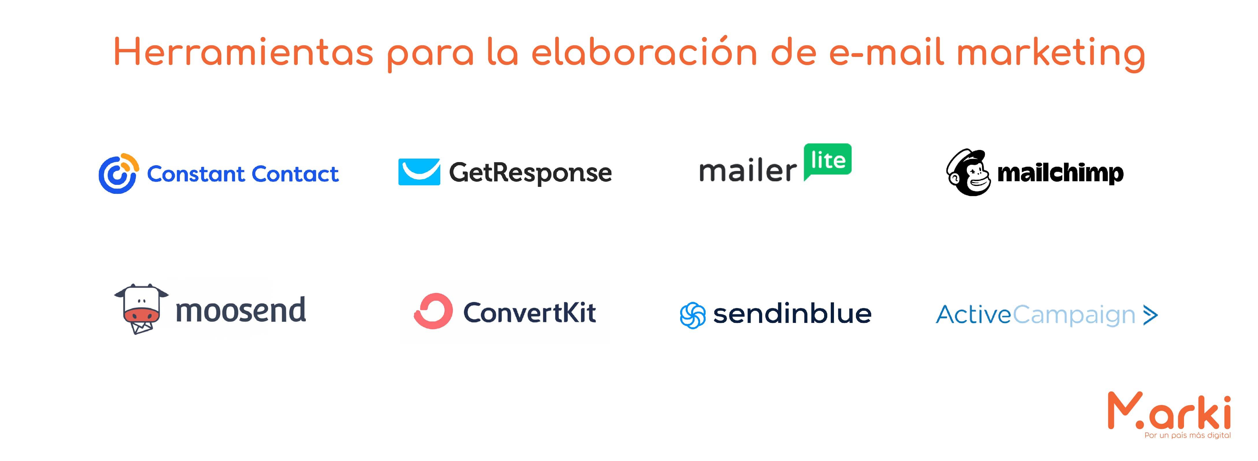 herramientas de email marketing como hacer email marketing gratis campañas de mailing estrategias de email marketing ¿Cúal es la mejor herramienta de email marketing? diseño marki voluntariado marki