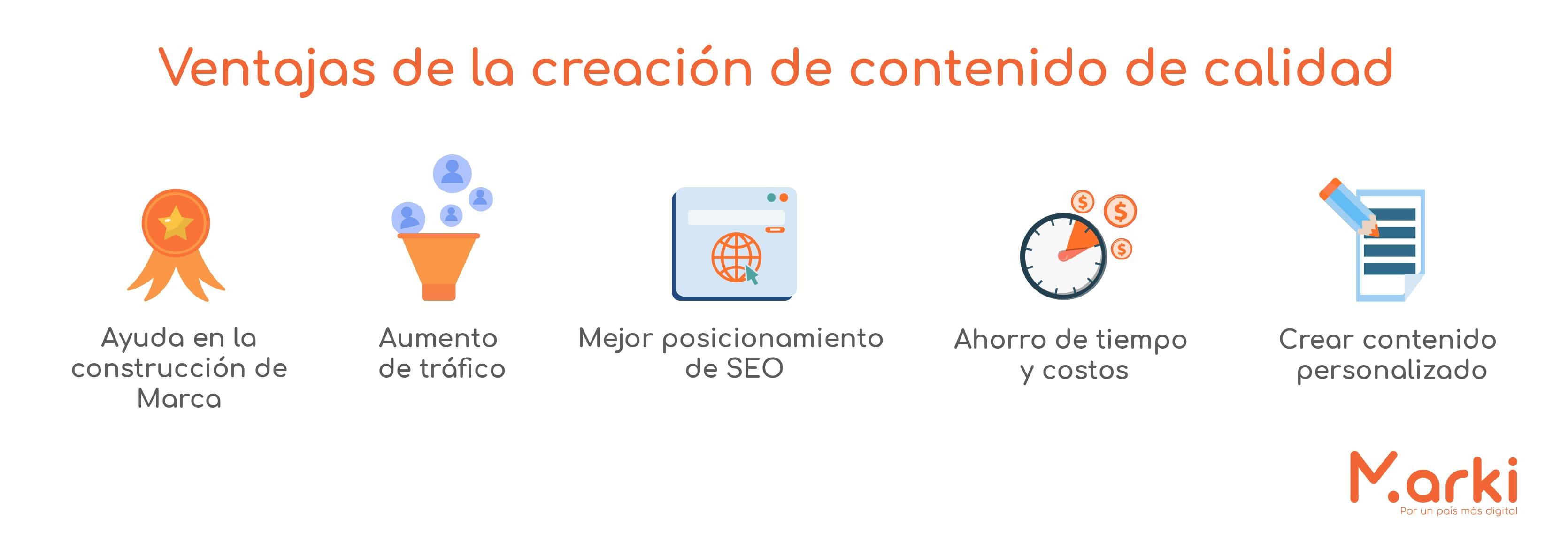 ventajas de creacion de contenido de calidad que es la creación de contenido como crear contenido para redes sociales como crear contenido de calidad para redes sociales como crear un calendario para redes sociales como crear un contenido voluntariado peru Voluntariado online capacitacion de marketing digital voluntariado marki