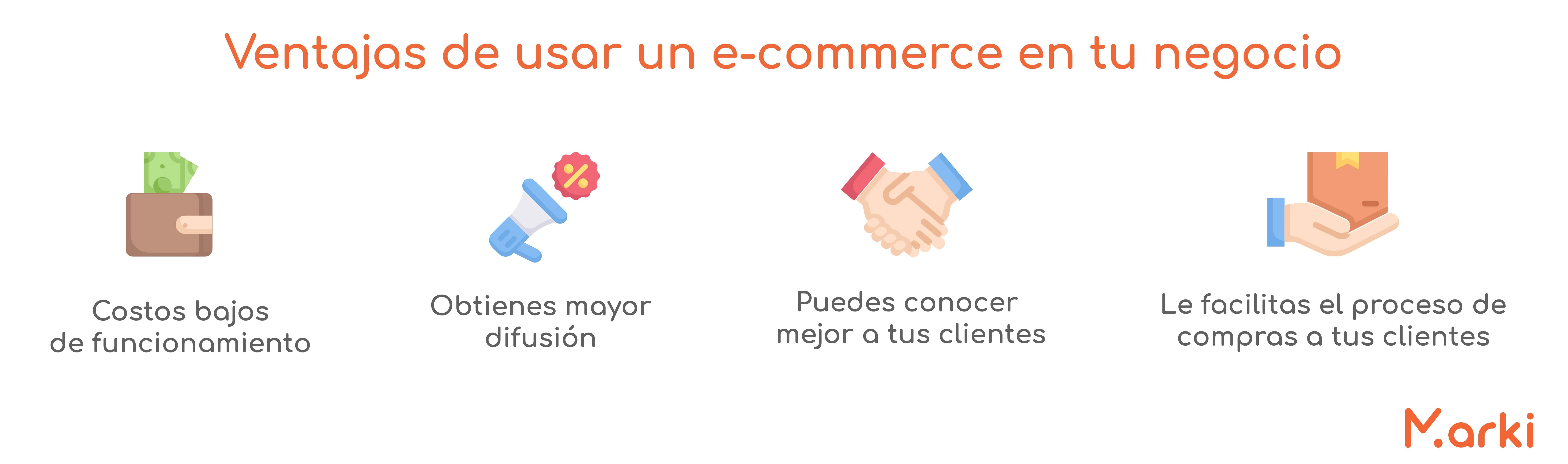 ventajas de un e-commerce