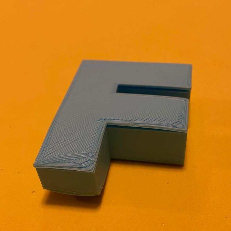 "3D Printed ""F"" Box"