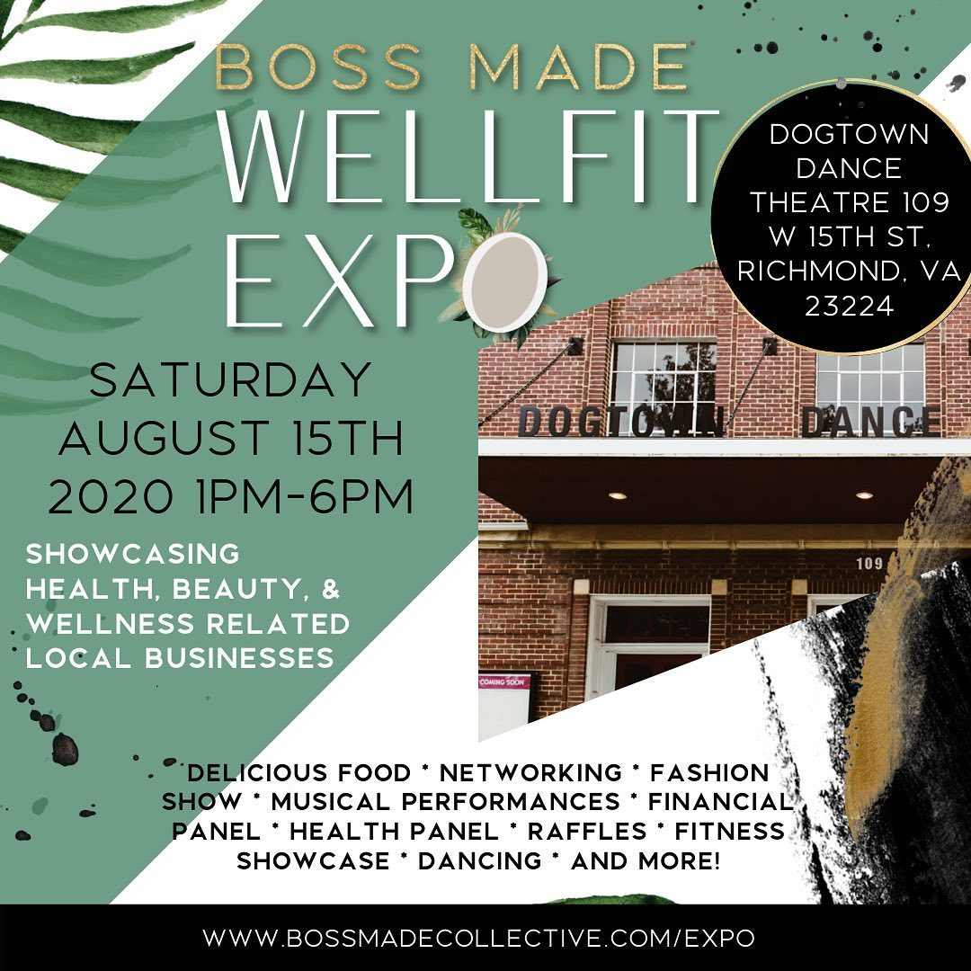 Well Fit Expo Event Flyer