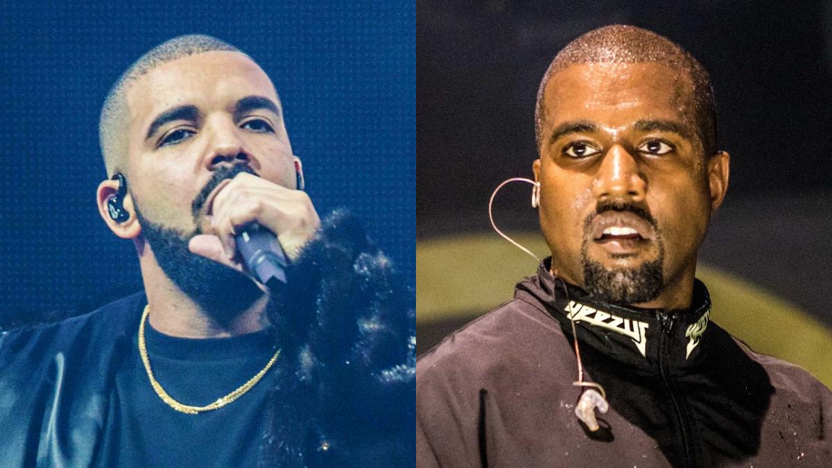 Drake vs Kanye