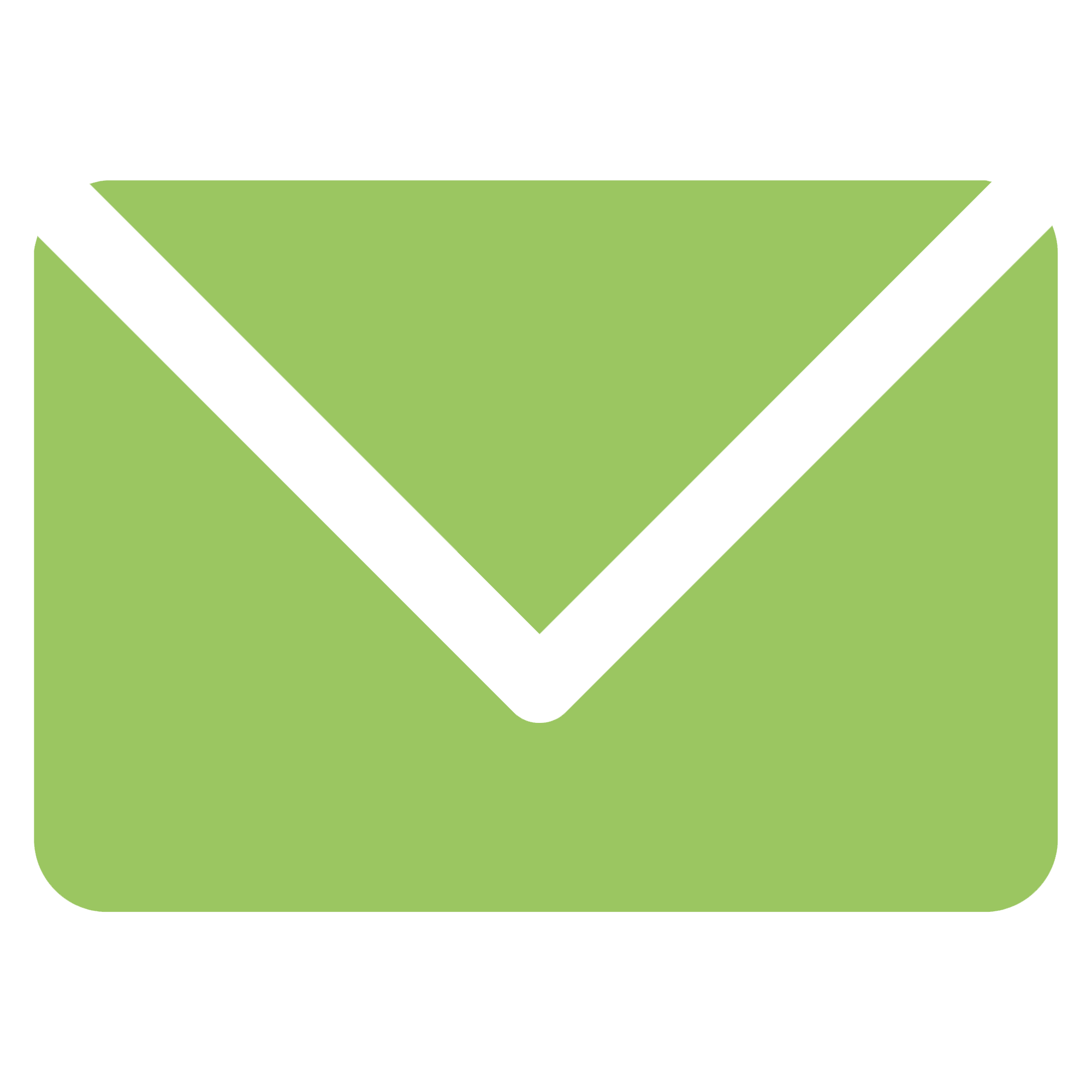Icon letter green