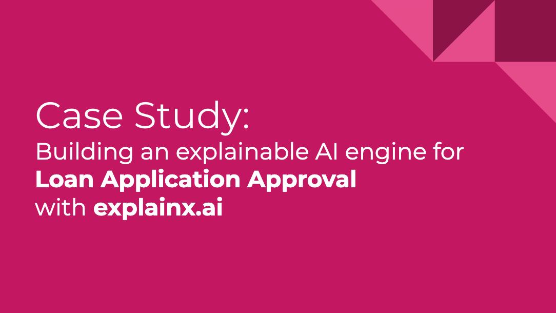 Learn how to explain and debug a blackbox CatBoost model on Loan Application dataset with explainX.ai explainable AI