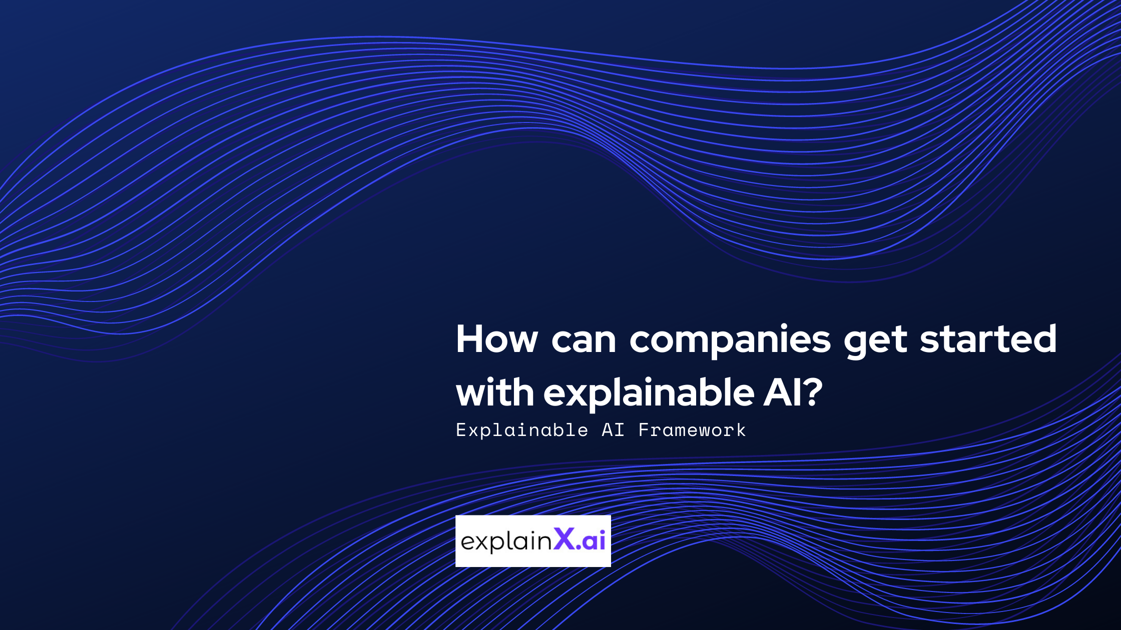 Learn how companies can implement explainable AI faster without spending tons of money