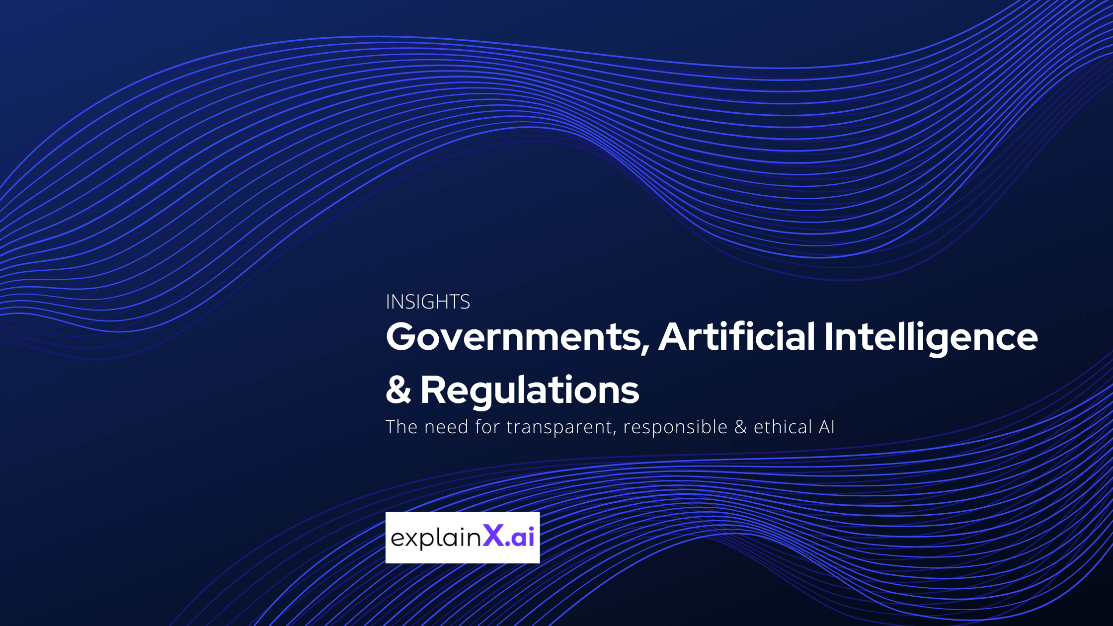 Explainable AI is crucial for governments to regulate AI algorithms for biases and discrimination