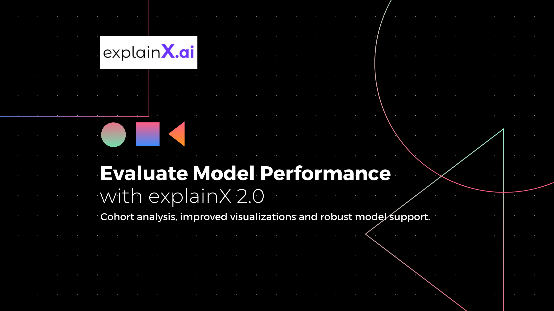 evaluate model performance with explainx